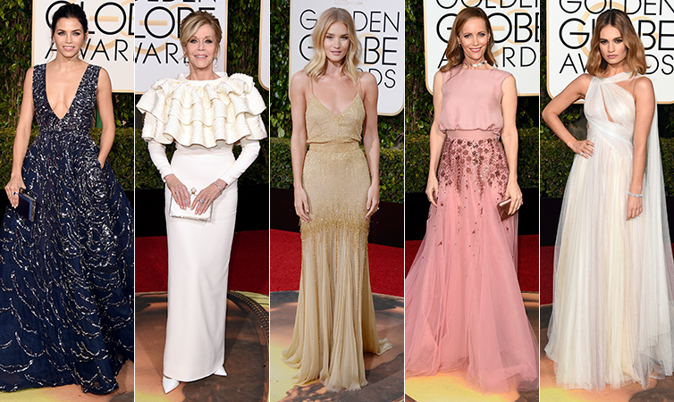 Best and worst dressed of the Golden Globes