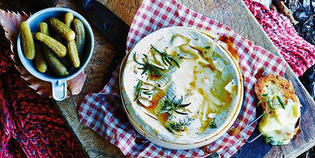Camembert fondue