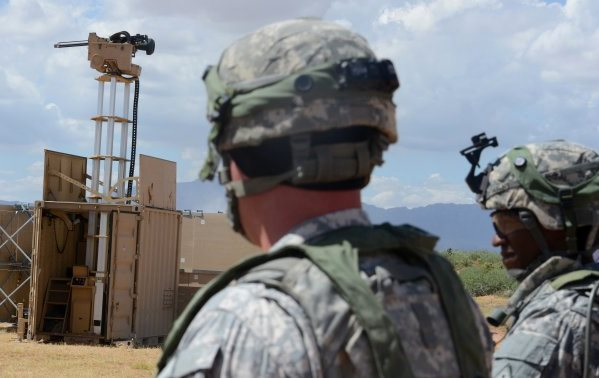 The Army wants to protect its bases with gun turrets, not guard towers