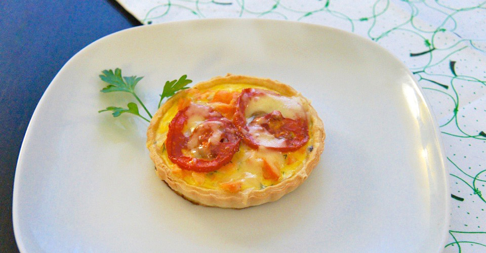 Cooking with Watson: Scandinavian salmon quiche