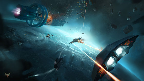 Surviving outer space in Elite: Dangerous