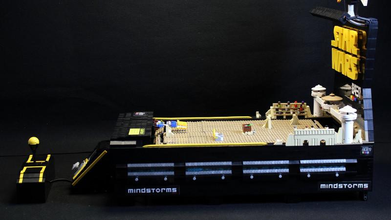 Star Racer: Star-Wars-Arcade aus Lego