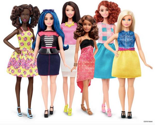 太ったバービーは必要か?マテル社がバービー人形に新しい体型を追加する大改革に賛否両論