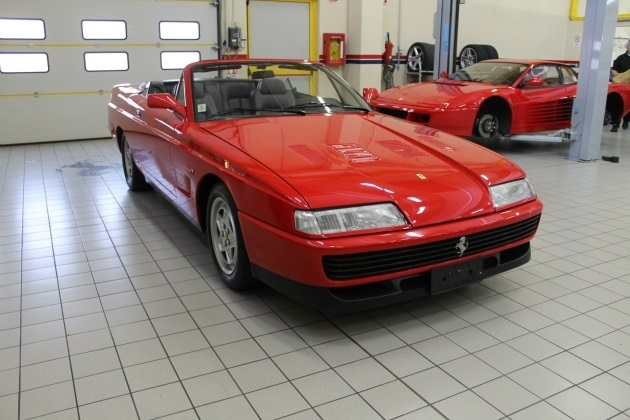 フェラーリ「412」をベースにしたワンオフのコンバーチブル、「412パヴェージ ヴェントロッソ」がイタリアで売出し中!