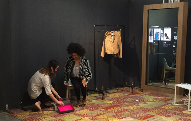 Nordstrom's smart fitting room helps you find fresh outfits