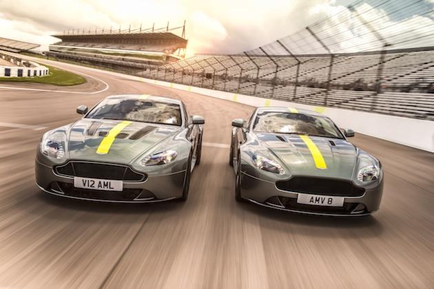 アストンマーティン、新たに起ち上げたAMRブランドから「ヴァンテージ AMR」を発表! V12とV8を合わせて300台の限定生産