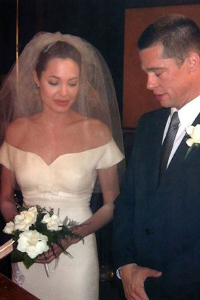 brad angelina wedding