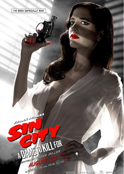 エヴァ・グリーンを起用した『シン・シティ』ポスターがセクシーすぎて使用禁止に