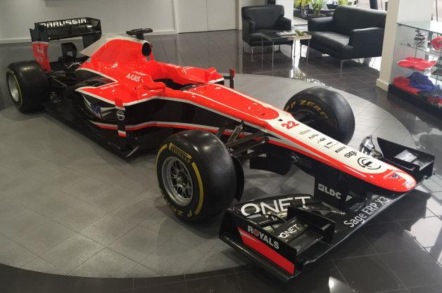 F1チームを始めるチャンス!? マルシャF1チームのアイテムが競売に!
