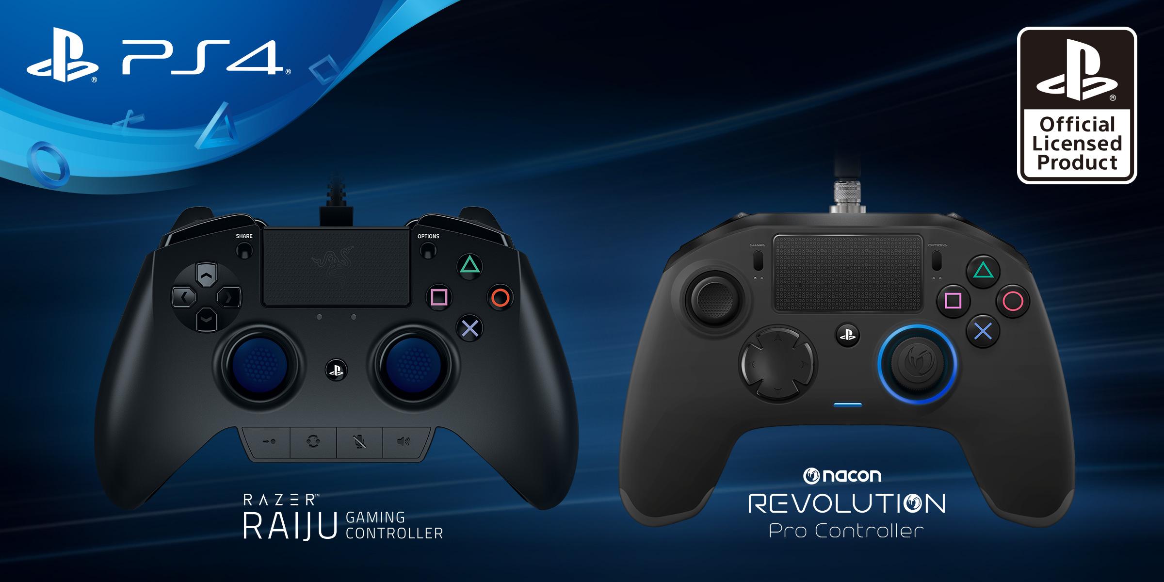 Für die Playstation 4 gibt es jetzt Pro-Gamer-Controller
