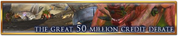 The great 50 million credit debate