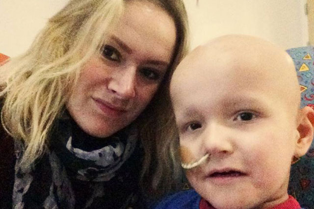 Mum's 100-mile taxi ride to diagnose five-year-old son's cancer