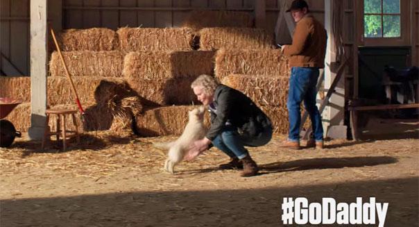 godaddy.com superbowl puppy tv ad