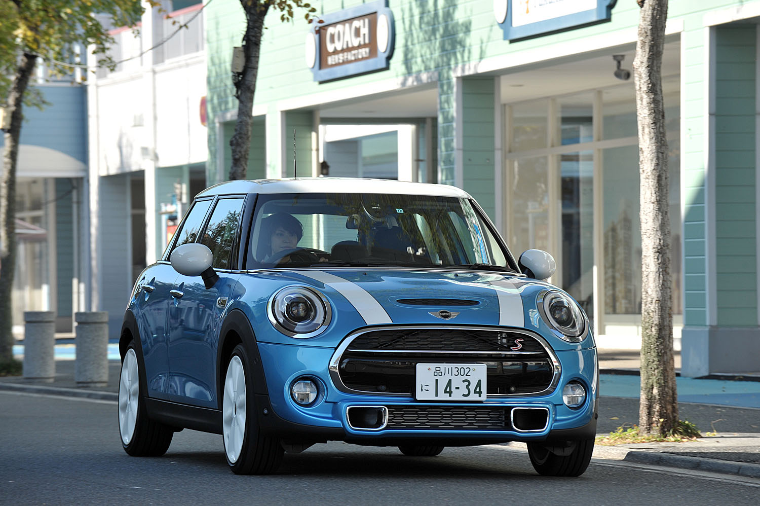 ​THE MINI cooperS/MINI cooper SD crossover
