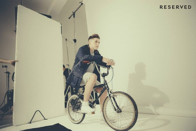 Brooklyn Beckham Instagrams pics of his first fashion campaign