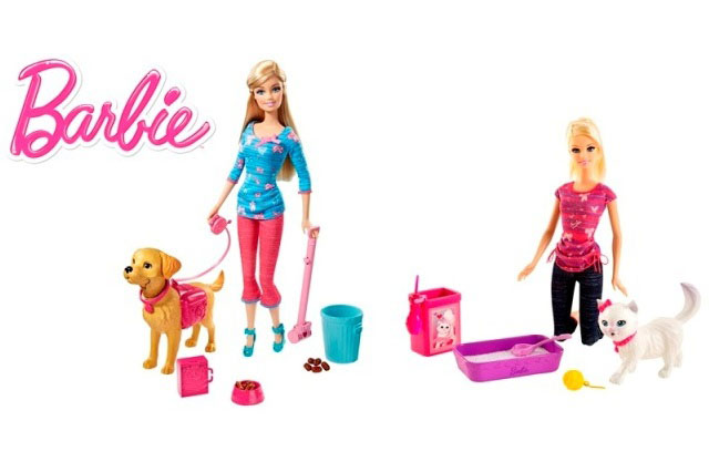 Win a Barbie Potty Training Pet competition