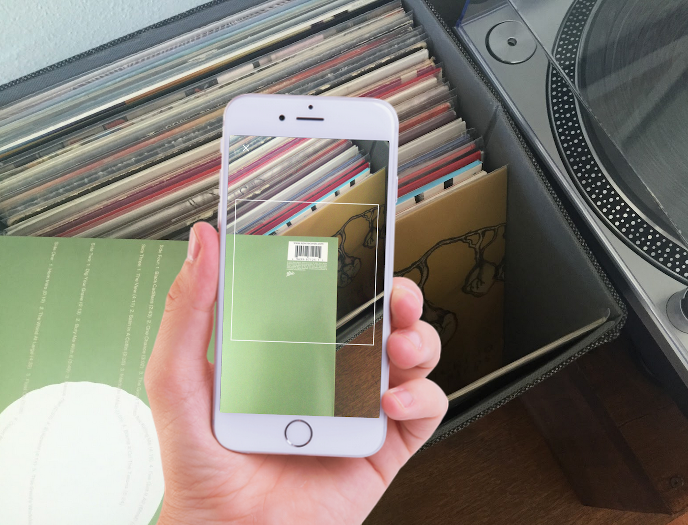 Discogs' vinyl-tracking app goes wide February 29th