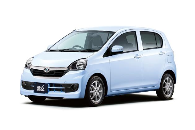 ダイハツの軽乗用車「ミラ イース」、ガソリン車トップとなる低燃費35.2km/Lを達成!