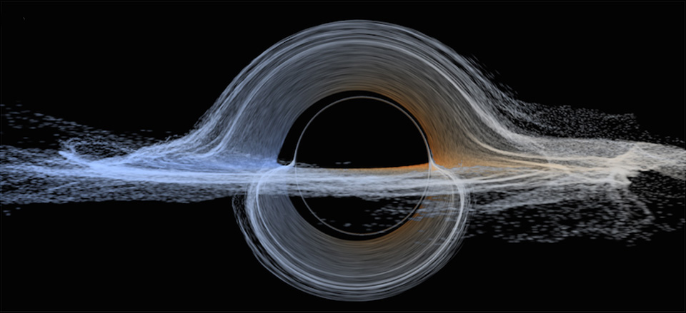 The black hole imagery of 'Interstellar' is now helping astrophysics