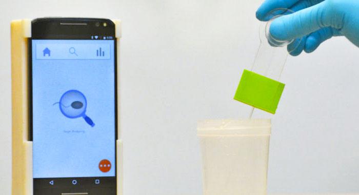 Researchers make super-cheap smartphone sperm test