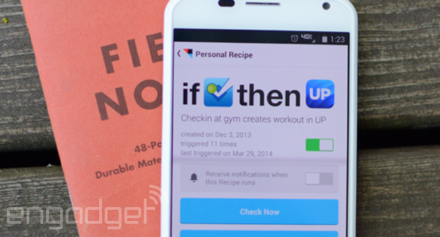 IFTTT brings its recipe-based app automation to Android