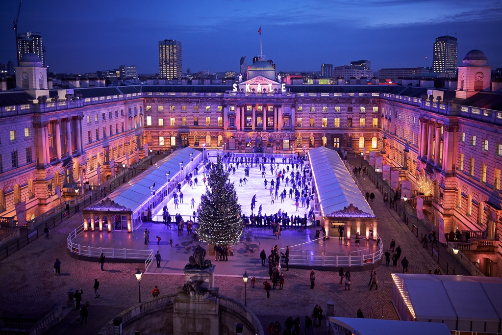 Skate at somerset house ice rink