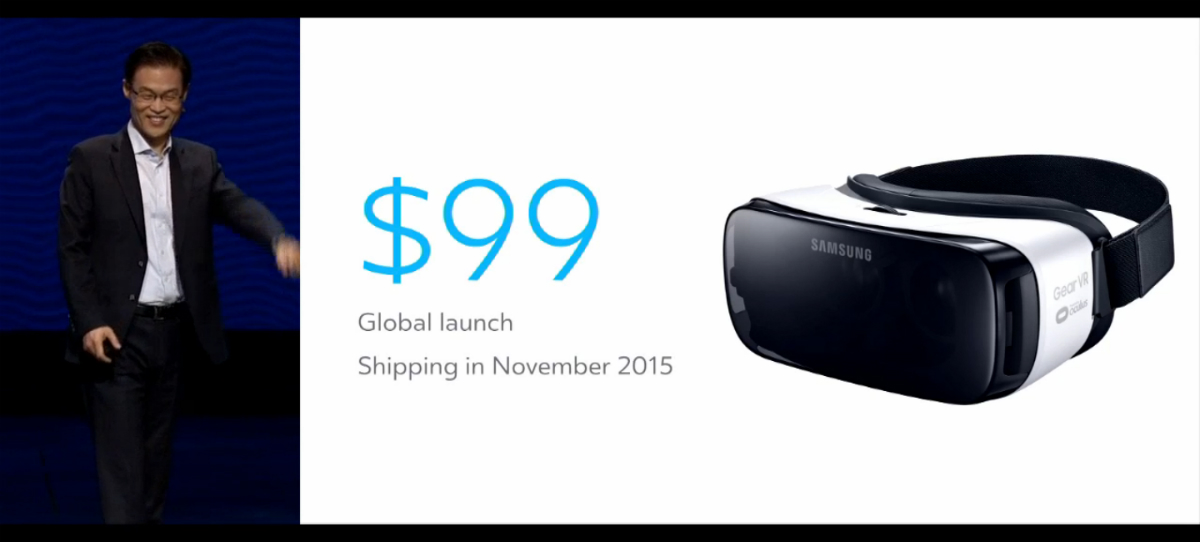 Samsung's new and improved $99 GearVR ships this November