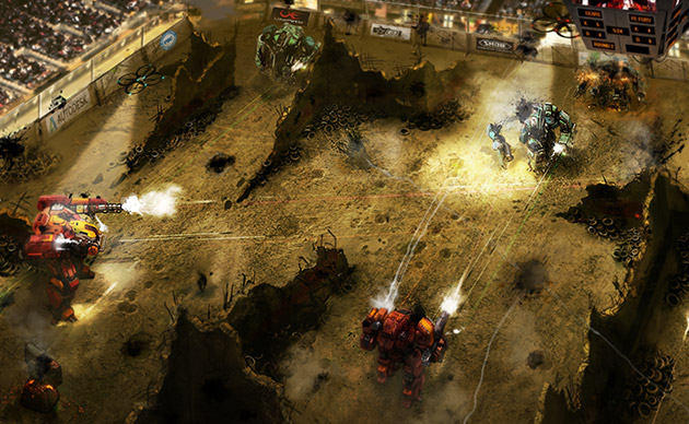 Startup wants to raise $1.8 million to build giant fighting robots