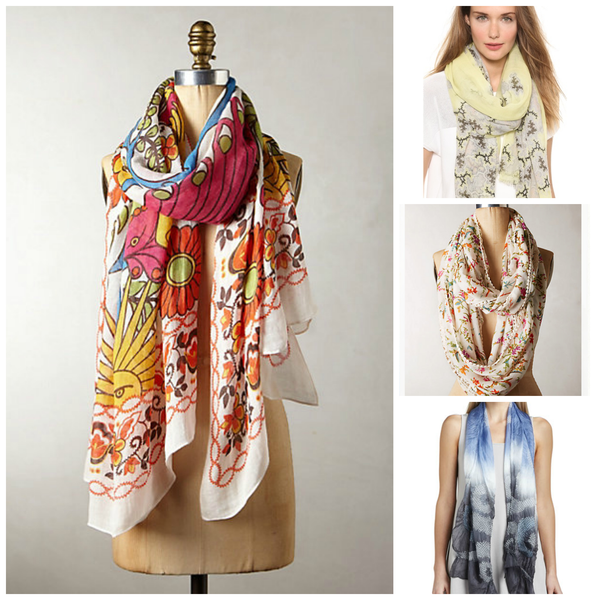 Shop the look: 20 scarves to wear in the summer AND fall