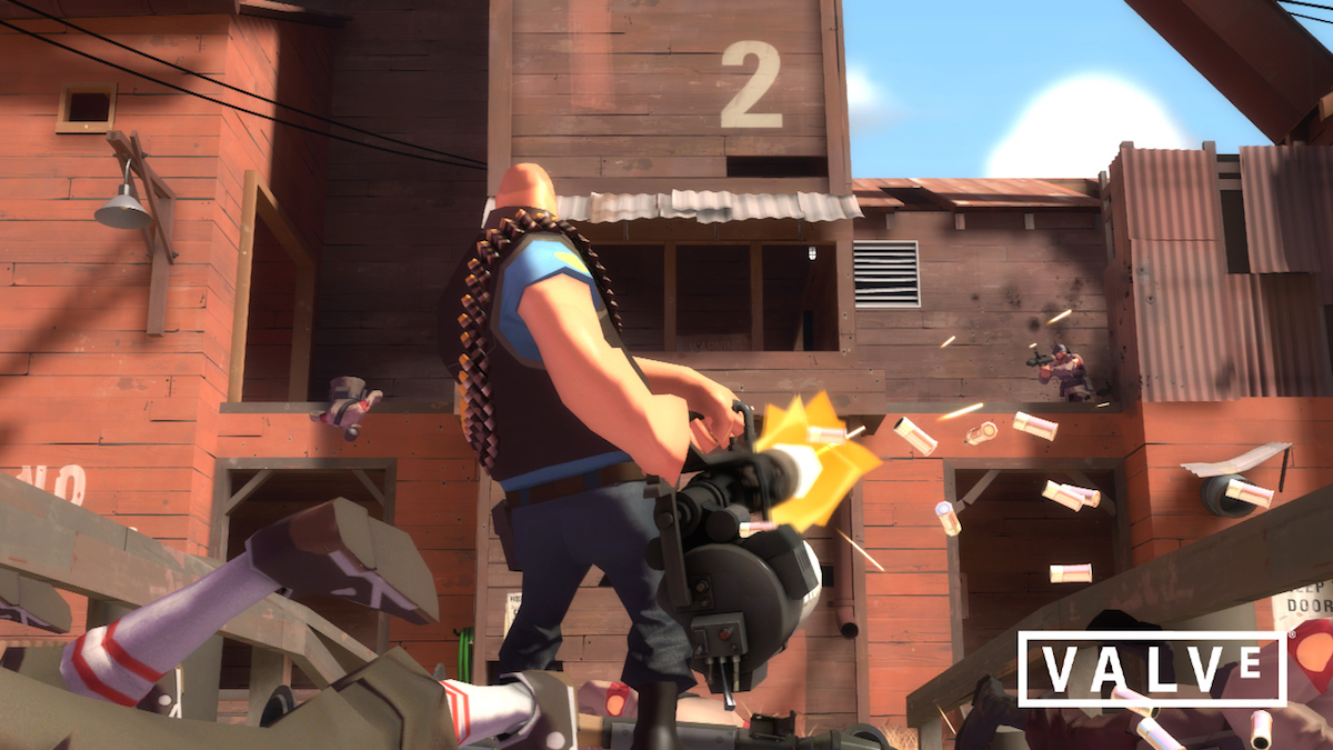 Valve and JJ Abrams' Bad Robot made 'Team Fortress 2' football