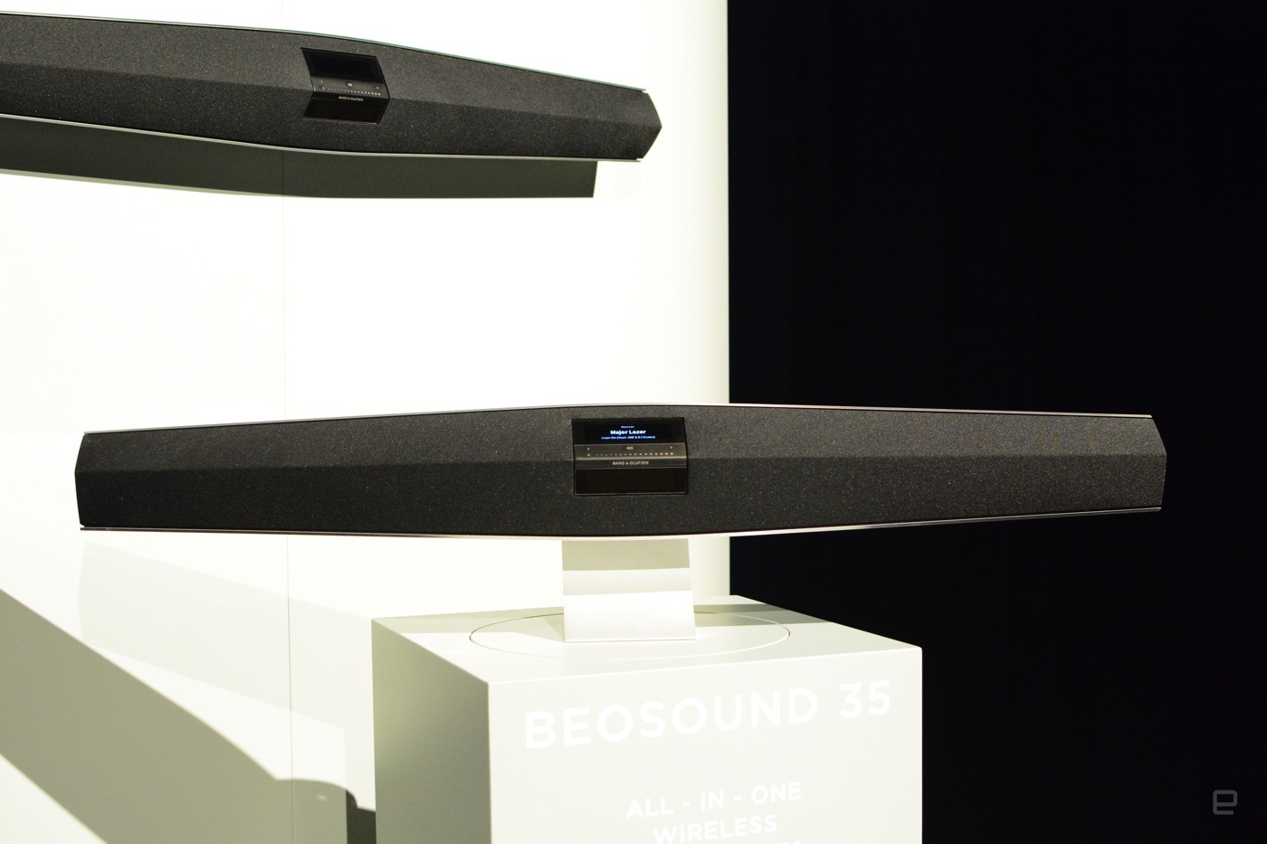 Bang and Olufsen's BeoSound 35 is an 'all-in-one' soundbar