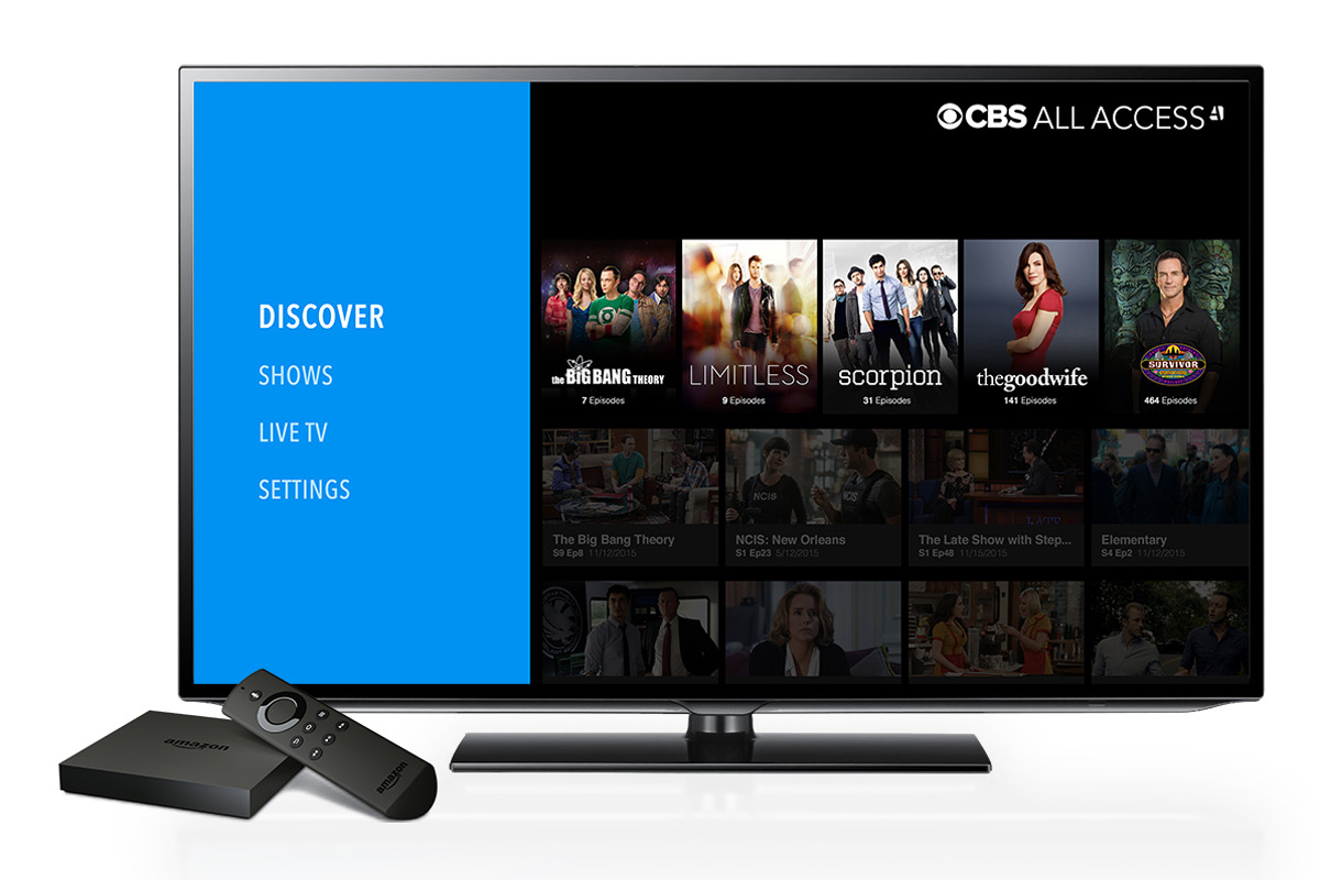 cbs 39 streaming video service comes to amazon 39 s fire tv. Black Bedroom Furniture Sets. Home Design Ideas