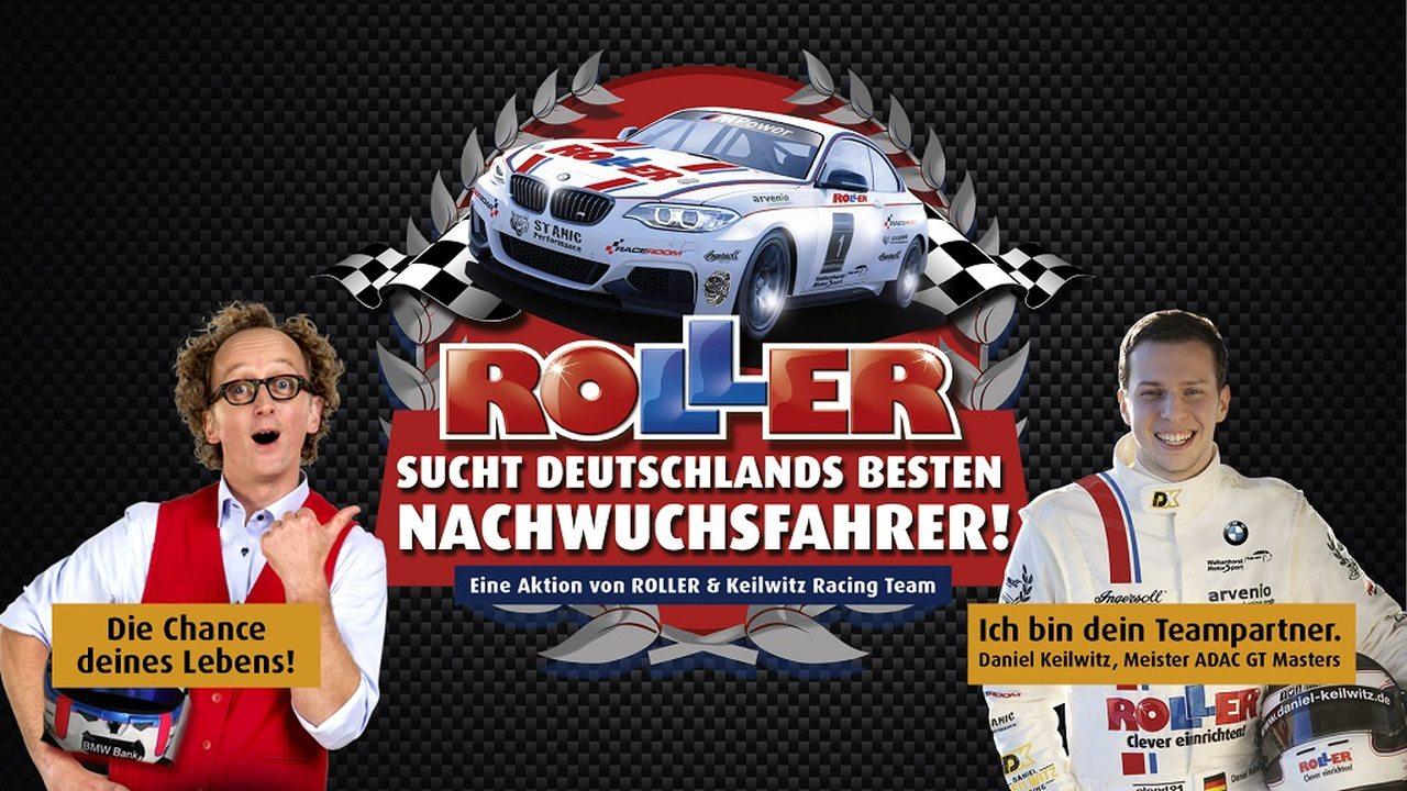 Roller sucht Motorsport-Talente
