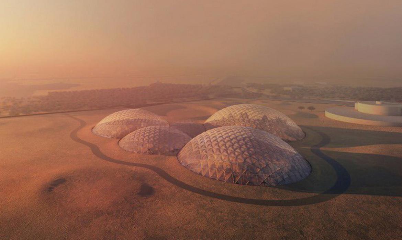 Dubai está construyendo una ciudad marciana en mitad del desierto