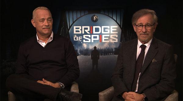 トム・ハンクス&スピルバーグから日本のファンにメッセージ!最強タッグによる最高傑作映画『ブリッジ・オブ・スパイ』【動画】