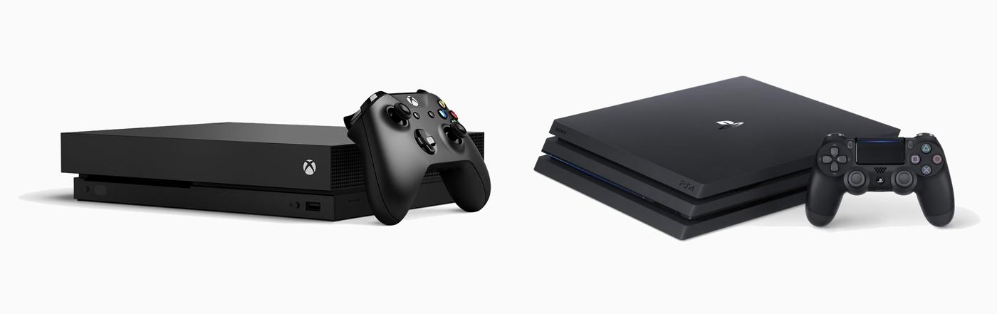 Xbox One X vs. PlayStation 4 Pro: las consolas del momento cara a cara