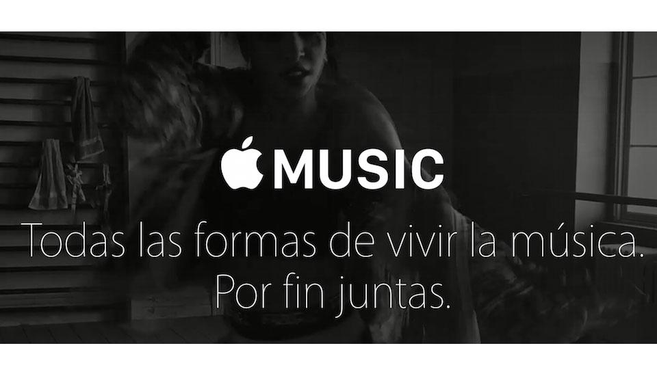 Apple Music frente a Spotify, Rdio y Google Play Music