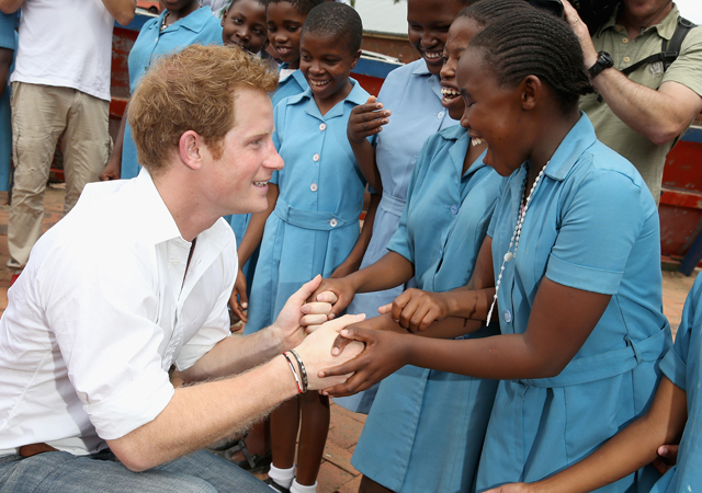 Prince Harry Sentebale
