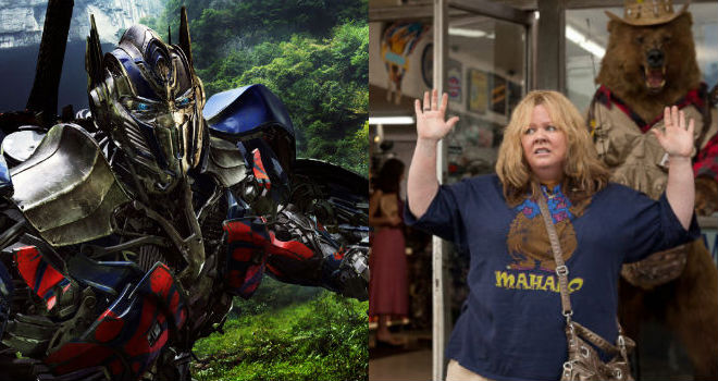 tammy+transformers+weak+4th+of+july Box Office: Lessons From a Weak July 4th Weekend