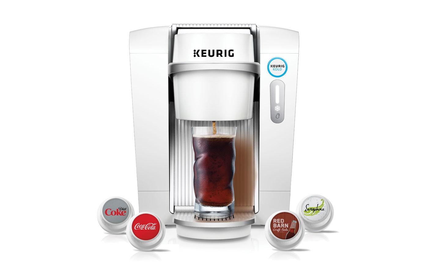 Keurig pulls the plug on its pod-based soda maker