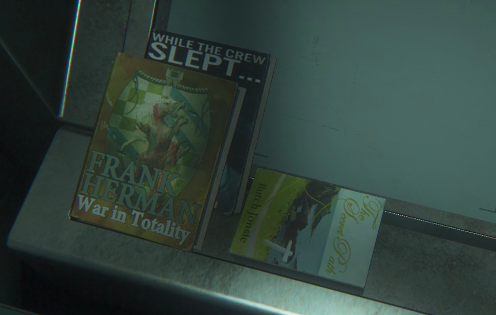 Alien Isolation Easter Egg found!