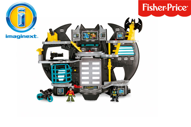 WIN an Imaginext® DC Super Friends™ Batcave!