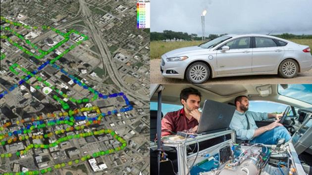 400m離れた場所から麻薬を探知! 北テキサス大学が製作した、質量分析計を搭載するフォード「フュージョン」