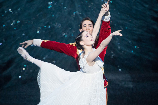 Tamara Rojo as Clara in The Nutcracker