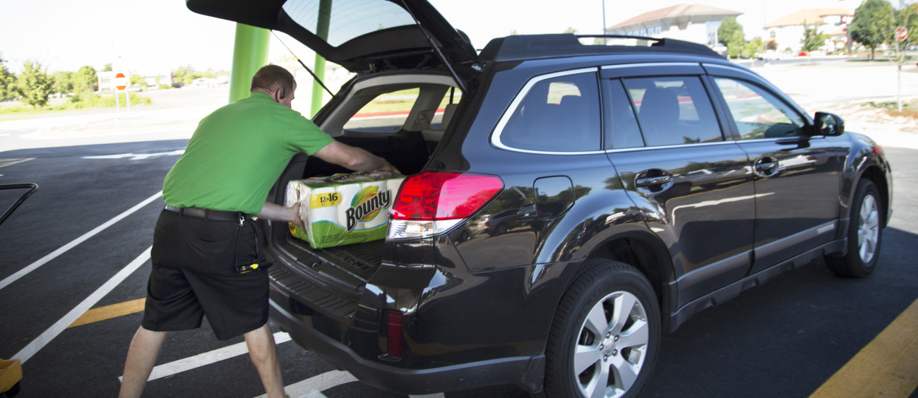Walmart is testing grocery deliveries with Uber and Lyft