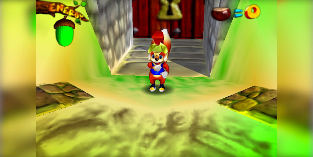 'Twelve Tales: Conker 64' in prototype form