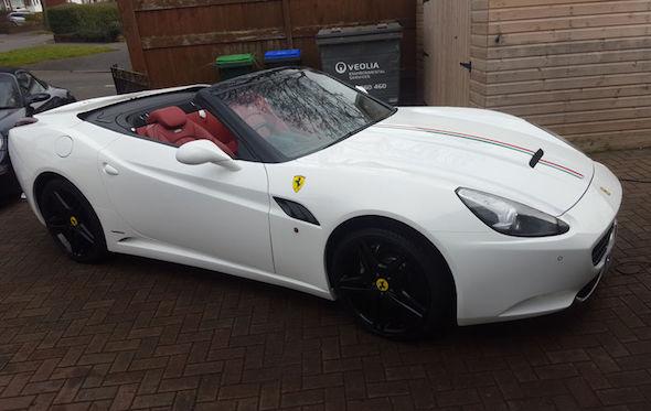 Replica Ferrari Has Unusually Highend Donor Car AOL UK Cars - Sports cars high end