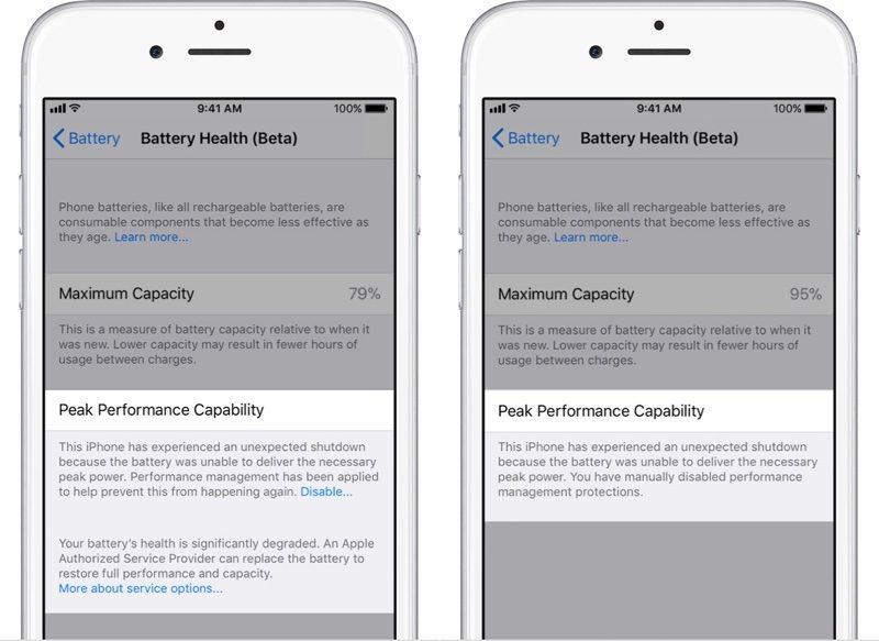 iOS 11.3: Leistung stärken bei schwacher Batterie ist nicht einfach ein Schalter