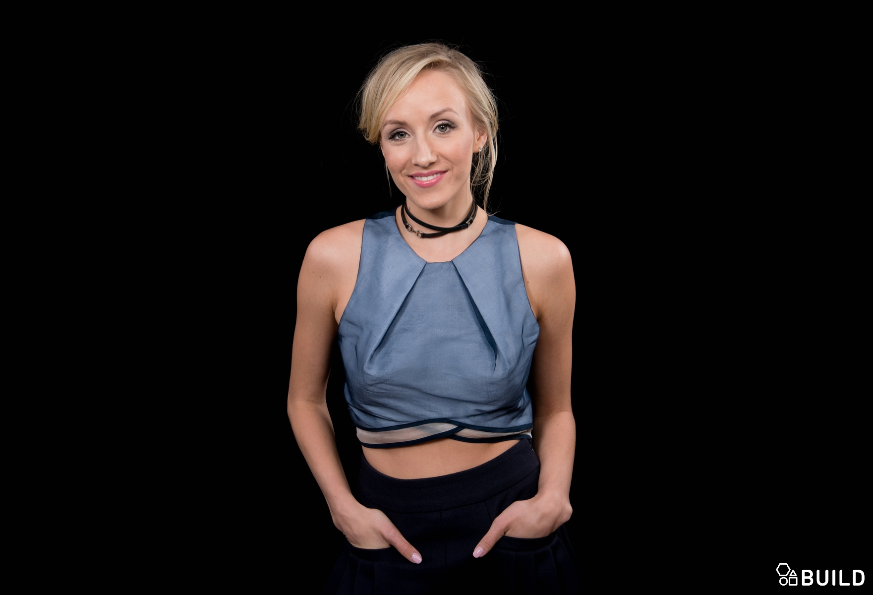 Nastia Liukin visits AOL Hq for Build on April 13, 2016 in New York. Photos by Noam Galai