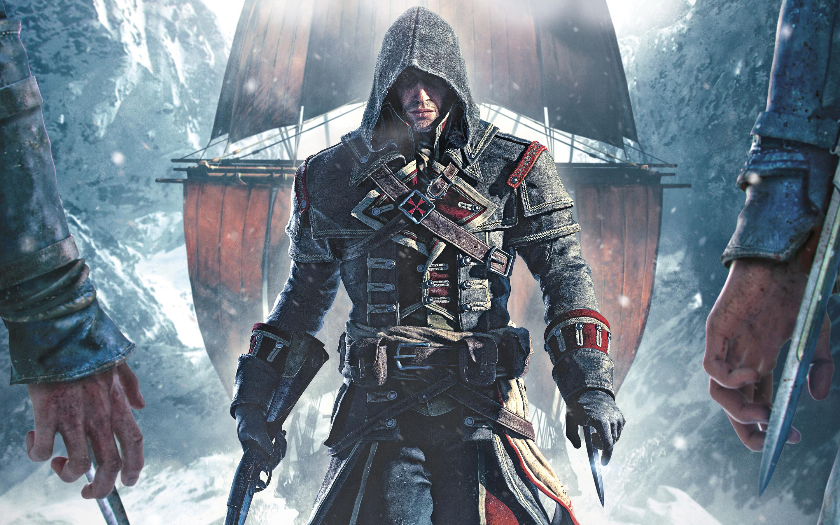The Assassin's Creed Rogue launch trailer is here!